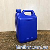 Канистра пластиковая синяя 5 литров