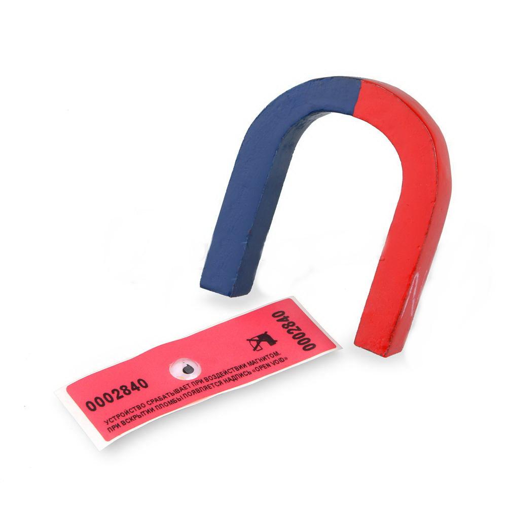 Наклейка-индикатор воздействия магнитного поля , мин.заказ - 10 шт.