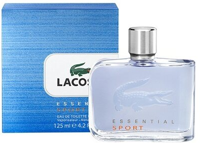 Мужская туалетная вода Lacoste Essential Sport (125 мл ) Синяя упаковка