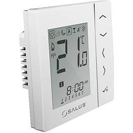Зональный терморегулятор беспроводной Salus VS10WRF 230В скрытого монтажа (белый)