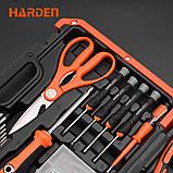 Универсальный домашний набор инструмента 22 пр. Harden Tools 510222, фото 4