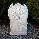 Скульптура Горгуля на троні №3 з бетону 48 см, фото 3