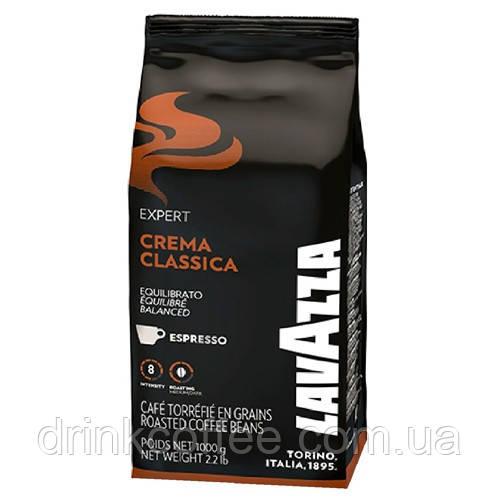 Кофе в зернах Lavazza Crema Classica 40% Арабика 60% Робуста Италия 1 кг