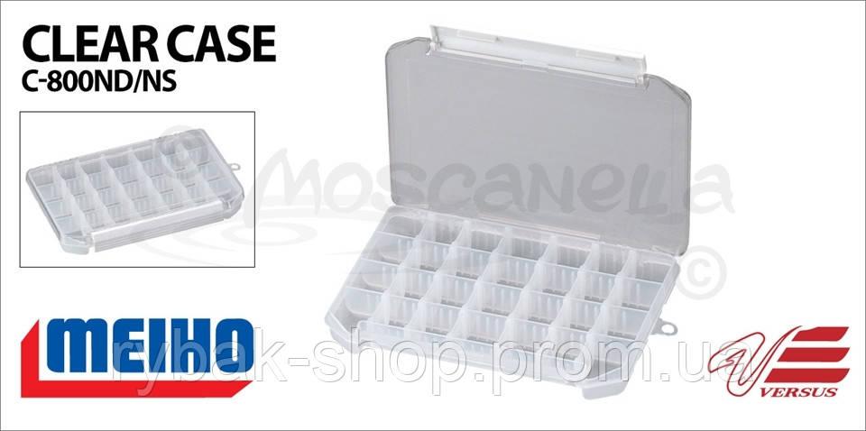Коробка MEIHO CLEAR CASE C-800NS (Япония)