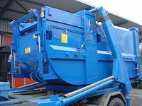 Мобильный прессконтейнер MBT для ТБО (биоотходов)