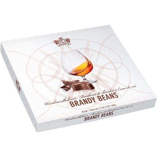 Шоколадные конфеты с начинкой из бренди Brandy Beans, 500 гр.