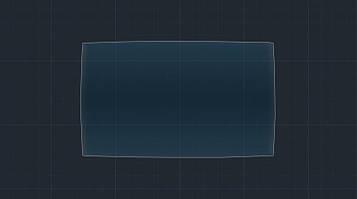 Защитное гибридное стекло на монитор MATT FIAT 595 2018