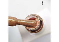 База каучуковая камуфлирующая с шиммером Master Professional Sparkle Basa №1, фото 1