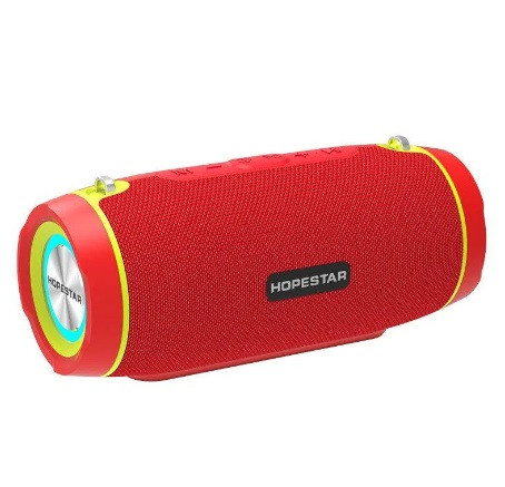 Bluetooth-колонка HOPESTAR-H45 Party Camouflage/Grey/Red