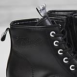 Жіночі зимові черевики на масивній підошві Loretta Y204 black чорні на шнурівці ,на осінь-зиму. 36 - 41 р., фото 3