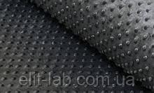 Плюшевый чехол на кушетку 80 см на 200 см - графит в пупырышку