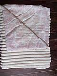 Плюшевый плед на кушетку 120 см на 160 см - фиолетовый, фото 6