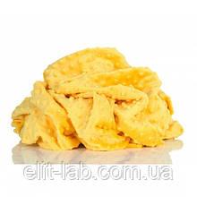 Плюшевый чехол на кушетку 80 см на 200 см - желтый (пупырка)