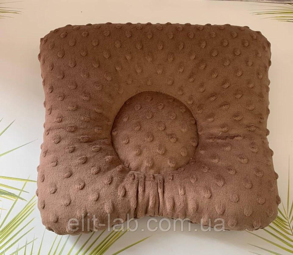 Подушка на кушетку - ШОКОЛАД дотс