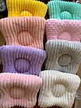 Подушка на кушетку - ШОКОЛАД дотс, фото 2