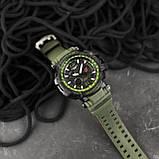 Casio G-Shock GPW-1000 Black-Green, фото 5