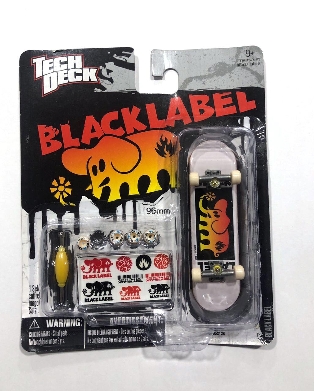 Набор фингерборд + детали Tech Deck Black Label Logo