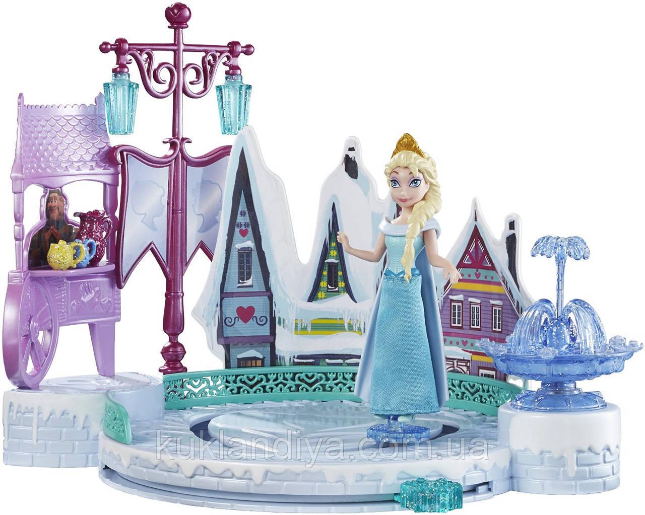 Игровой набор Эльза на катке - Disney Frozen Elsas Ice Skating Rink
