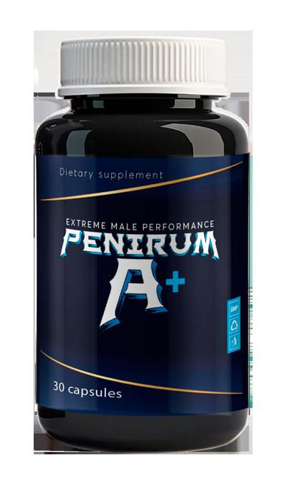 Penirum A+ (Пенирум А+) - капсулы для потенции