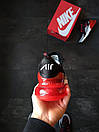 """Кросівки чоловічі Nike Air Max 270 """"Black/Red"""", фото 4"""