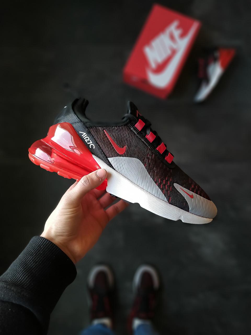 """Кросівки чоловічі Nike Air Max 270 """"Black/Red"""""""