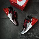 """Кросівки чоловічі Nike Air Max 270 """"Black/Red"""", фото 3"""