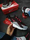 """Кросівки чоловічі Nike Air Max 270 """"Black/Red"""", фото 9"""