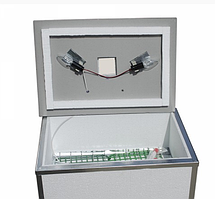 Инкубатор бытовой Наседка, на 120 яиц, ручной, цифровой, литой пенопластовый корпус, 4 лампочки