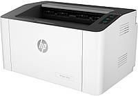 Лазерний принтер HP Laser M107w Wi-Fi для дому та офісу, чорно-білий