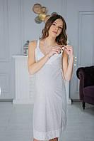 6402(99)03 Мадлен Ночная рубашка беременным Серая, фото 1