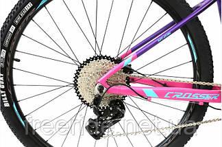 Велосипед Crosser Solo Lady 29-036 (15,5) 2*12S гидравлика, фото 3