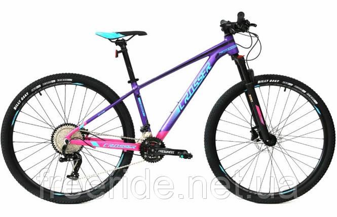 Велосипед Crosser Solo Lady 29-036 (15,5) 2*12S гидравлика, фото 2