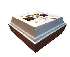 Инкубатор бытовой Наседка, на 120/72 яиц, механический, цифровой, литой пенопластовый корпус, 4 лампочки