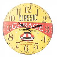 Часы настенные винтажные 34 см (арт. 090A)