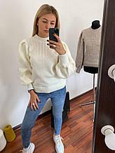Модний жіночий светр Пауліна 5 кольорів (42-46)