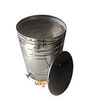 Бак отстойник для меда с нержавеющим фильтром 250 л