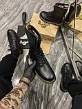 Зимние ботинки Dr. Martens 1914 Fur Black (Мех), доктор мартенс черевики Dr Martens, мартинс ботінки мартінс, фото 3