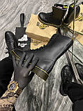 Зимние ботинки Dr. Martens 1914 Fur Black (Мех), доктор мартенс черевики Dr Martens, мартинс ботінки мартінс, фото 4