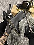 Зимние ботинки Dr. Martens 1914 Fur Black (Мех), доктор мартенс черевики Dr Martens, мартинс ботінки мартінс, фото 2