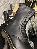 Зимние ботинки Dr. Martens 1914 Fur Black (Мех), доктор мартенс черевики Dr Martens, мартинс ботінки мартінс, фото 5