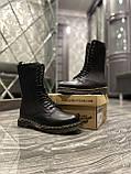 Зимние ботинки Dr. Martens 1914 Fur Black (Мех), доктор мартенс черевики Dr Martens, мартинс ботінки мартінс, фото 7