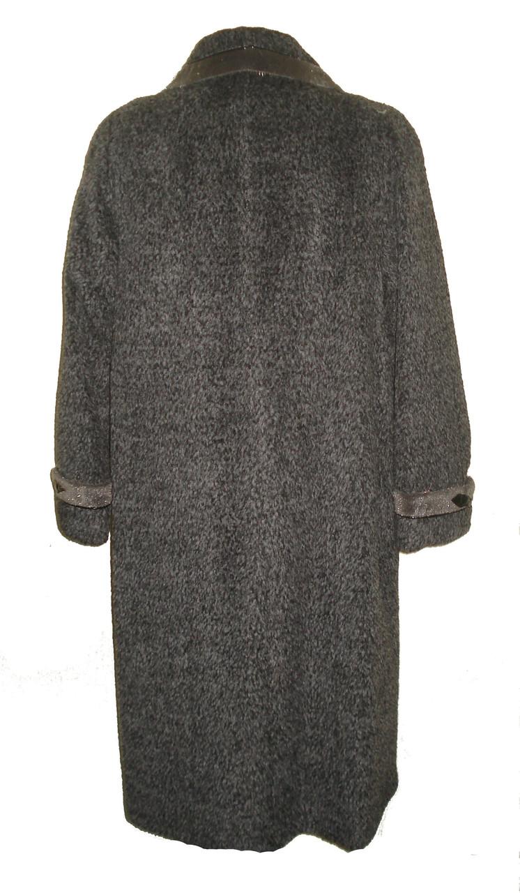 Зимнее пальто с отделкой