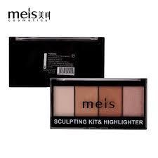 Палетка для скульптурирования лица Mels Sculpting kit & Highlighter