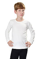 Термокофта детская для мальчика JIBER Poly Thermal, белая (молочная) 30 (110-116)