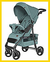 Прогулочная коляска-книжка для детей CARRELLO Quattro CRL-8502 Pine Green зеленый цвет. Дитячий візок
