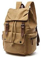 Рюкзак текстильный Vintage 20073 Хаки