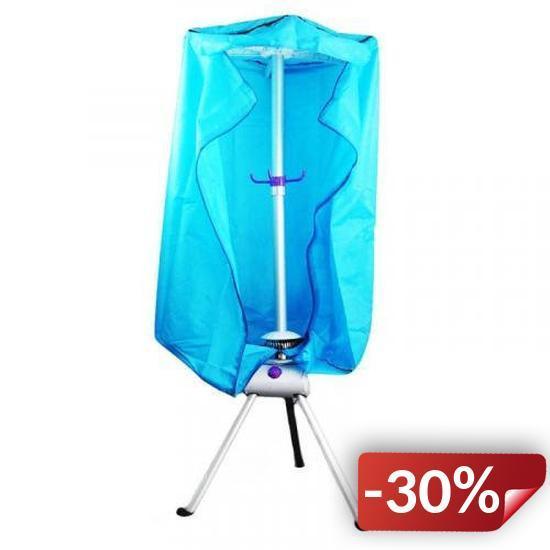 Электрическая сушилка Supretto для одежды Голубой (4946)
