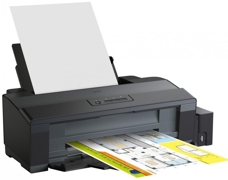Кольоровий струменевий принтер Epson L1300 А3+ для дому та офісу