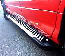 Подножки на Chevrolet Tracker (c 2012---) Шевроле Трекер