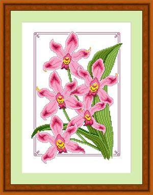 Набор для вышивки крестом Русский фаворит ЦВ-018 «Дикая орхидея»